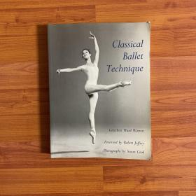 Classical Ballet Technique古典芭蕾舞技巧,英文原版