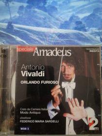维瓦尔第歌剧《疯狂的奥兰多》【原版进口2CD】