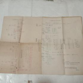 红楼梦家族表及报刊分配统计表