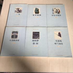 海的梦 憩园+李有才板话+象牙戒指+生死场呼兰河传+二月+八月的乡村 6册合售