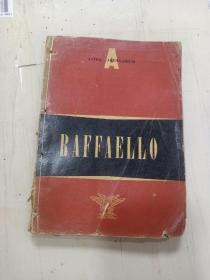 1952年英文画册《 RAFFAELL0 》1厚册