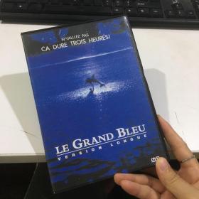 DVD光盘 1碟盒装:碧海蓝天 Le grand bleu (1988) 又名: 碧海情深 / 夜海倾情 / 碧海情 / 大蓝 / The Big Blue