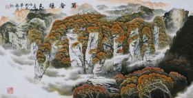张立有山水画,张家界景区