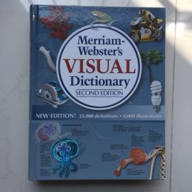 Merriam-Webster's Visual Dictionary  韦氏视觉词典   精装大厚本  库存书 边角轻微磕碰