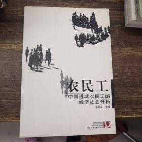 农民工:中国进城农民工的经济社会分析