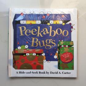 Peekaboo Bugs   英文儿童立体绘本书  精装