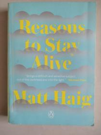 Reasons to Stay Alive 英文原版