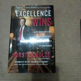 Excellence Wins: A No-Nonsense Guide to Becoming the Best in a World of CompromiseSchulze, Horst