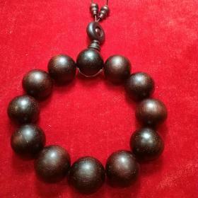 金星小叶紫檀手链一串,直径2.0