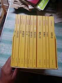 佛教十三经(全套装)全十二册    附外盒,注意外盒有一处磨损见图4
