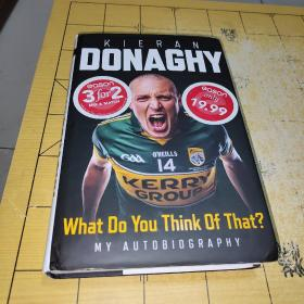 KIERAN DONAGHY cason cason 3for2MIX A MATCH only 19.99 O'NEILLS 14 KERP What Do You Think Of That? MY AUTOBIOGRAPHY