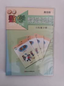 小学数学教学配套资源包(六年级,下册) (有4枚光盘,一盒装)