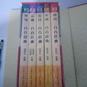 中华古诗词宝典  盒装五册