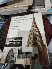 American Architecture Vol. 2: 1860-1976