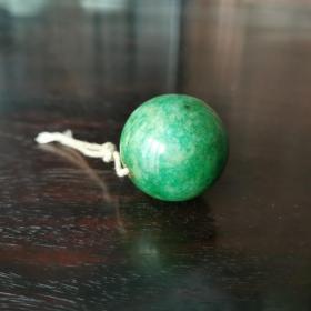 民国翡翠琉璃珠子