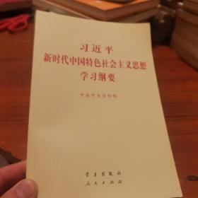 习近平新时代中国特色社会主义思想学习纲要