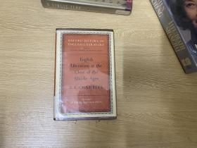 Oxford History of English Literature: The Close of the Middle Age 牛津英国文学史,第二卷第二部,名家名作,精装,1964年老版书