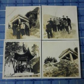 1957年西安骊山风光老照片四张