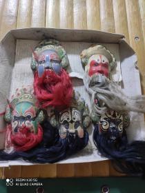 京剧脸谱,5个