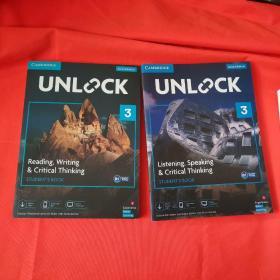 Unlock 3 Listening, Speaking & Critical Thinking +Reading, Writing & Critical Thinking(