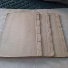 线装手抄经书九龙忏三本一套全046/085522具体年代不懂