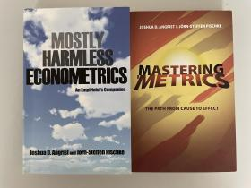 The Economics of Financial Markets +Mastering Metrics(现货非代购;基本无害的计量经济+功夫计量)