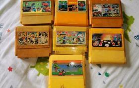 80~90年代游戏机插卡7个合售