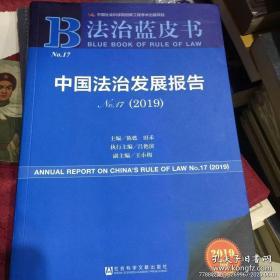 中国法治发展报告