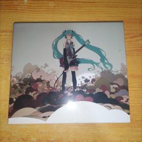 初音未来 CD+DVD(2张)实物图