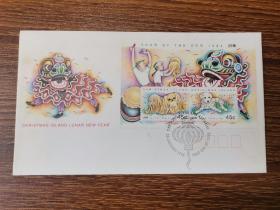 6.16~国外小型邮票纪念封一枚