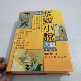 珍本禁毁小说大观 稗海访书录
