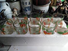 玻璃小酒杯10个