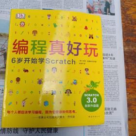DK编程真好玩:6岁开始学Scratch(2020版)(爱心树童书)