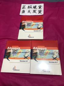 Abaqus Ⅴersⅰon6.7(共三册合售,全新塑封。)(外文版)