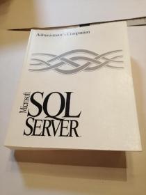 Administrator s Companion Microsoft SQL SERVER Version 6.0