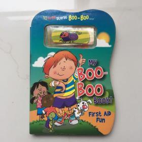 My Boo-Boo Book!: First Aid Fun   英文儿童纸板书