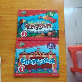 ABC Forest Camp:SONGROOM、CHATTERBOX  共2本合售 16开  精装【内页干净】