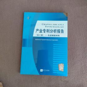 产业专利分析报告(第61册):先进储能材料
