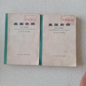 美国史纲(1877-1918)上下册