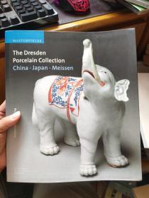 英文原版 The Dresden Porcelain Collection China.Japan.Meissen