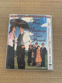"""DVD收藏版""""四个婚礼一个葬礼(双国配)"""