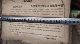 民国,国医函授学院教材绝非卖品,罕见,防空与仿毒,中国国医函授学院缺封皮,内容非常不错188包邮不议价
