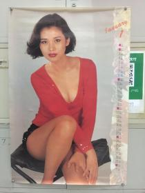 1994年挂历——女明星一张(辛颖)长85.5厘米,宽57厘米,号11