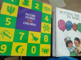 picture stories for children(5本英文版经典童话) 硬精装有外盒  1980年出版