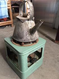 六十年代的 柴油炉子 一套 完整 正常使用