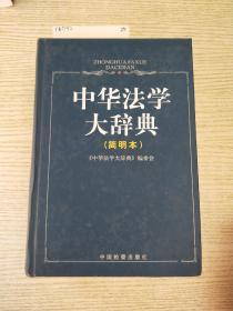 中华法学大辞典:简明本