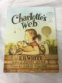 【英文原版】E.B.White:Charlotte's Web 夏洛的网 精装大开本彩色插图