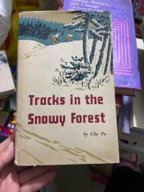 tracks in the snowy forest(林海雪原 英文版)