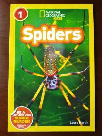 National Geographic Readers: Spiders 【正版全新】