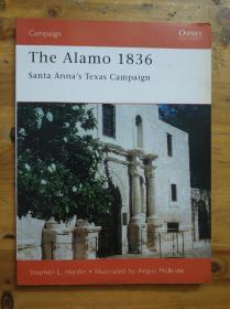 1836年阿拉莫战役 (英文)